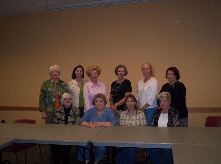 Organizational meeting attendees